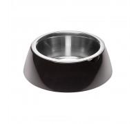 Ferpiast  JOLIE L BLACK BOWL  Металлическая миска для собак и кошек в ..