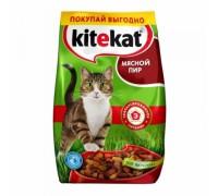 Kitekat сухой корм для котов   Мясной банкет 12 кг..