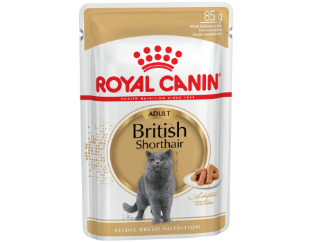 Royal Canin British Shorthair Adult  для британских короткошерстных кошек старше 12 месяцев 0,085 кг
