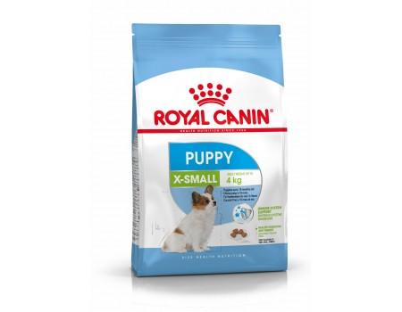 Royal Canin Xsmall puppy  для щенков собак миниатюрных пород в возрасте до 10 месяцев,  0,5 кг
