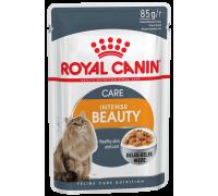 Royal Canin Intense Beauty In Jelly  для поддержания красоты шерсти  в..