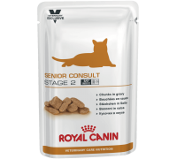 Royal Canin Senior Consult Stage 2 Pouches  для котов и кошек старше 7..