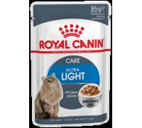 Royal Canin Ultra Light  для кошек, склонных к полноте  0,085 кг..