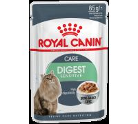 Royal Canin Digest Sensitive  для домашних кошек с чувствительным пище..