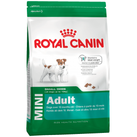 Royal Canin Mini Adult для собак мелких размеров с 10 месяцев до 8 лет, 8 кг