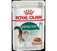 Royal Canin Instinctive+7 Wet  для кошек старше 7 лет  0,085 кг..