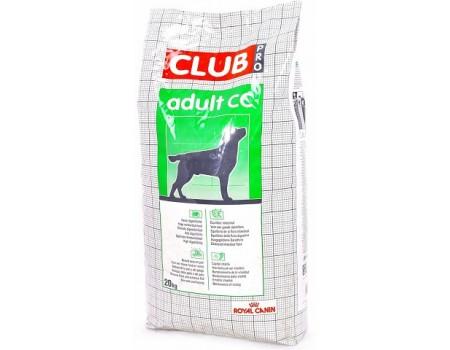 Royal Canin Club Pro Adult CC взрослой собаки с нормальной активностью  20 кг