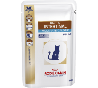 Royal Canin Gastro Intestinal Moderate Calorie Feline Pouches для коше..