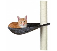 Домик для кошки TRIXIE - Гамак для кошачьего домика, Д-40 см, платинов..