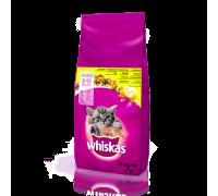 Whiskas Junior подушечки с кремовой начинкой для котят, беременных и к..