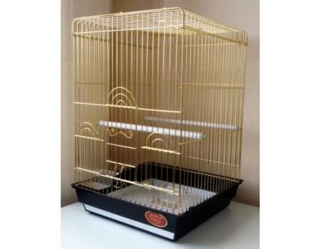 Клетка для птиц А405 , золото