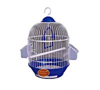 Клетка для птиц 303 , эмаль, круглая..