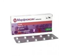 Марфлоксин  5мг таблетки антибактериальные (марбофлоксацин) 1тб/2,5кг,..